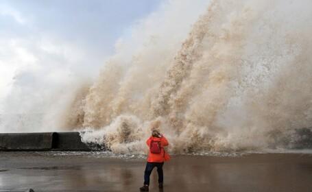 Urmările furtunii Eleanor după ce a lovit Marea Britanie