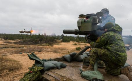 Exercițiu NATO cu rachete anti-tanc, în Letonia