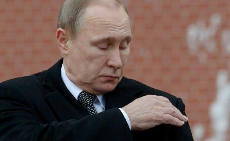 Vladimir Putin la parada de Ziua Apararii Patriei