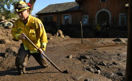 Alunecări de teren masive, în California