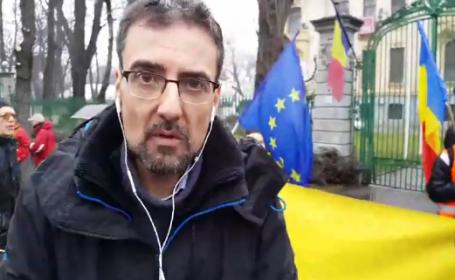 Euronews a transmis LIVE protestul anticorupție din România