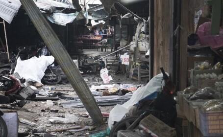 Atentat cu 3 morţi, în Thailanda. Poliţia acuză o \