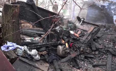 Bătrână de 93 de ani, moartă într-un incendiu. Soțul s-a salvat în ultima clipă