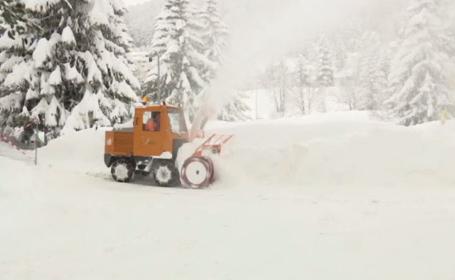 Forumul Economic Mondial de la Davos, în pericol din cauza ninsorilor abundente din acest an
