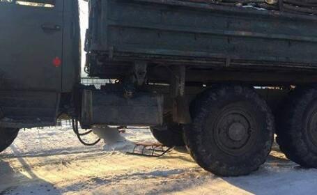 Un copil din Moldova, aflat la săniuș, a sfârșit sub roțile unui camion