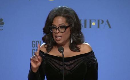 Oprah, despre cadidatura la Casa Albă: \