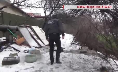 Un om al străzii a murit îngheţat, în Galaţi