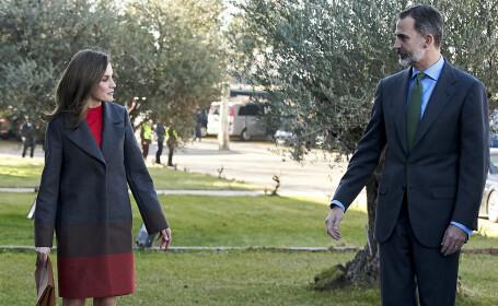Regele Felipe și Regina Letizia
