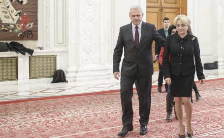 Liviu Dragnea si Viorica Vasilica Dancila