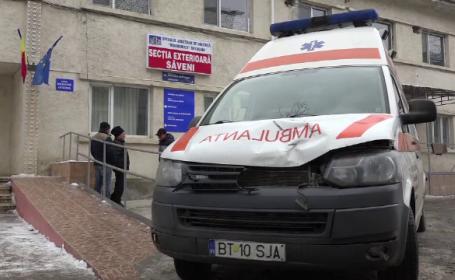 O bătrână, lovită în plin de o ambulanță care transporta o femeie însărcinată, în Botoșani