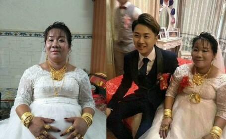 Un chinez a fost plătit pentru a se căsători. Cât a obținut de la socrii săi. VIDEO