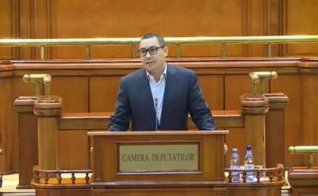 Victor Ponta, Parlament
