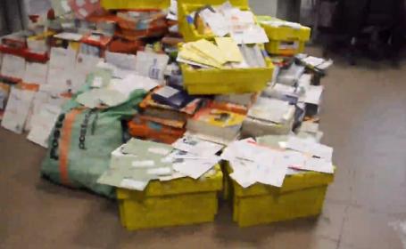 Un poștaș a ascuns o parte din corespondență timp de 8 ani de zile. Cum a fost descoperit