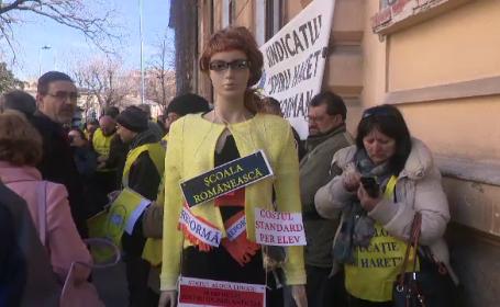 invatamant, educatie, Valentin Popa, proteste, elevi, profesori, comasare