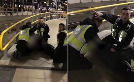 Momentul în care atacatorul din Manchester e arestat. Ce a transmis înainte de atac. VIDEO
