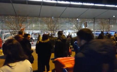 Panică pe aeroportul din Amsterdam, în noaptea de Anul Nou. Ce a anunțat un bărbat