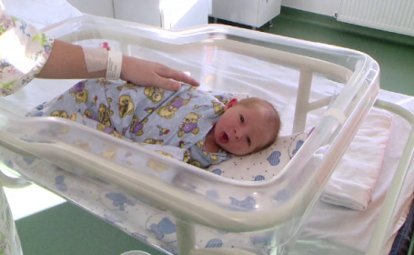 Primul copil din 2019 s-a născut la Iași. A venit pe lume în primul minut din an