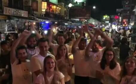 Cum au petrecut Revelionul românii din străinătate. Horă în Bangkok