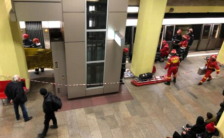 tentativă suicid metrou, Contin Georgian