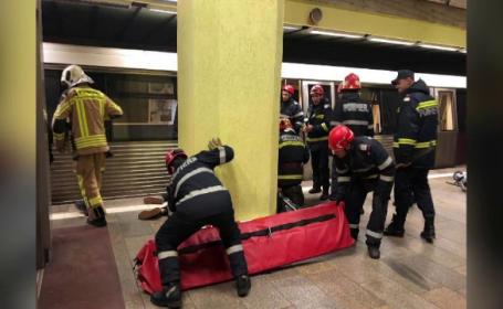 metrou, moarte, sinucidere