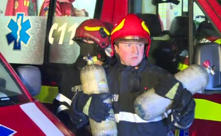 Un bărbat a murit într-un incendiu care ar fi fost provocat de iubita lui, cu probleme psihice