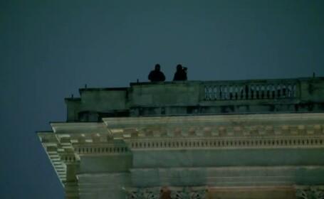 Măsurile de securitate luate la Ateneul Român: lunetiști pe acoperișuri