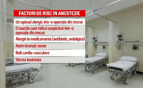Explicația medicilor în cazul femeii care a murit după anestezie. \