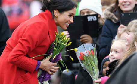 Meghan Markle, strălucitoare în luna a 6-a. Ducesa a anunțat când va naște. FOTO