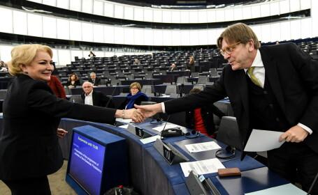 Dăncilă, despre discursul în care Verhofstadt a ameninţat cu articolul 7: \
