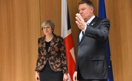 Prima reacție a lui Iohannis în criza Brexit. Mesaj pentru românii din Marea Britanie
