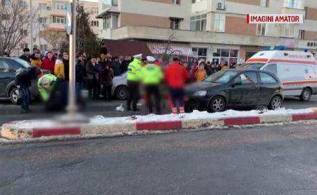 Explicaţia şoferului de 26 de ani care a lovit în plin trei femei, pe o trecere de pietoni