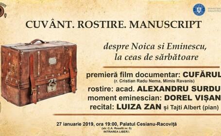 Cuvânt Rostire Manuscript