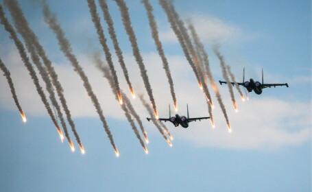 Două avioane de luptă Su-34 s-au ciocnit în Extremul Orient Rus