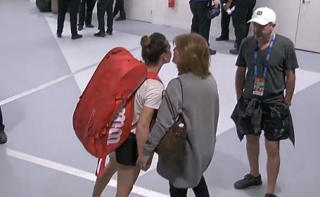 Moment emoționant înainte de meciul Simonei cu Venus. Ce s-a întâmplat în culise
