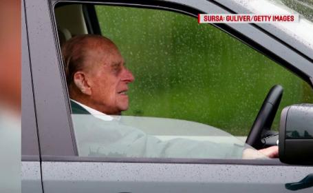 Prinţul Philip, avertizat de poliţie după ce a condus fără centură la 2 zile după accident