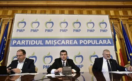 Preşedintele PMP, după europarlamentare: \