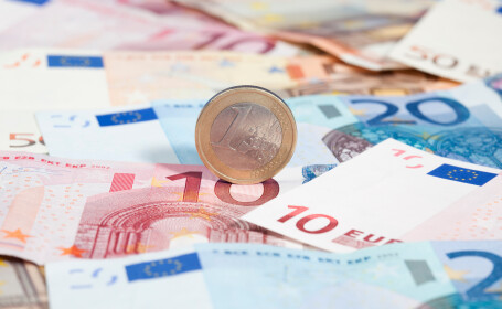 Euro revine pe creștere și depășește din nou 4,75 lei