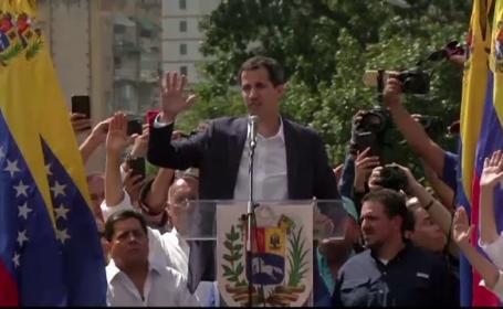 """Oferta lui Juan Guaido pentru Maduro: amnistie în schimb renunțării la """"tron"""""""