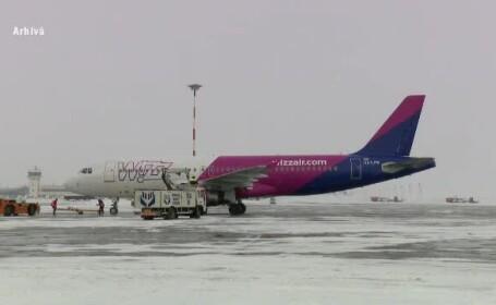 """Stare de alertă într-un avion Wizz Air. Pilotul a declarat """"Mayday"""" în aer"""