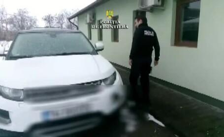 Descoperirea unor polițiști de frontieră din Timiș când au controlat o femeie