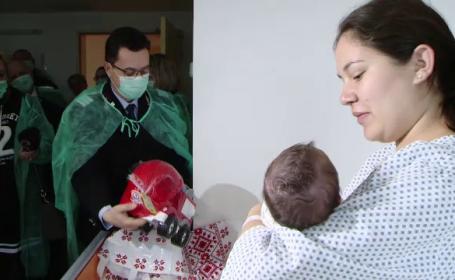 Câți bebeluși s-au născut în România de Anul Nou. Sunt doar 0,12% din totalul în lume