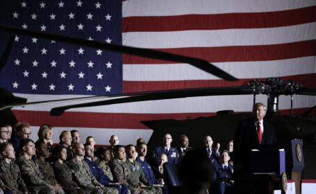 Donald Trump, soldati