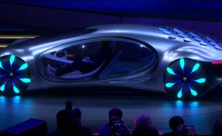 CES 2020, Mercedes