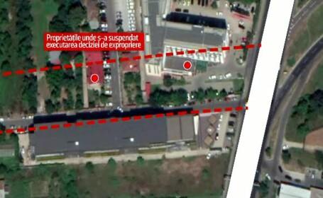 Pasajul Gara de Nord - Otopeni, în impas. Exproprierile din zonă au fost suspendate