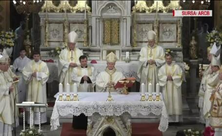 Monseniorul Aurel Percă, ales de Papa Francisc noul arhiepiscop mitropolit de Bucureşti
