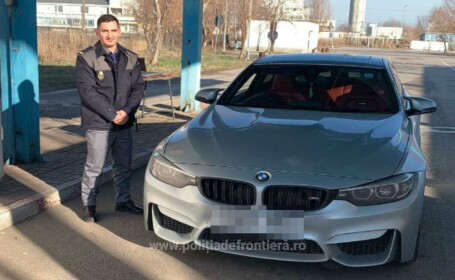 Un britanic a rămas fără BMW-ul de 50.000 de euro după ce a intrat în România