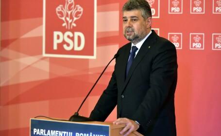 """Moţiunea de cenzură, dezbătută şi votată miercuri. Ciolacu: """"Avem suficiente voturi"""""""