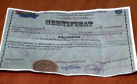 diploma de salvamar