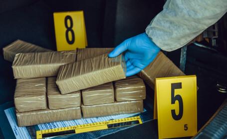 Două persoane din Constanța, prinse de DIICOT cu droguri. Cantitatea e uriașă