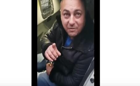 Interlop prins beat la volan, circ cu polițiștii din Alexandria: \
